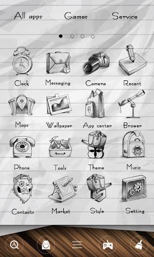 免費下載個人化APP|Doodles GO Launcher Theme app開箱文|APP開箱王