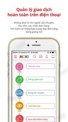 MOKI - Giúp Các Mẹ Trao Đổi Đồ - screenshot