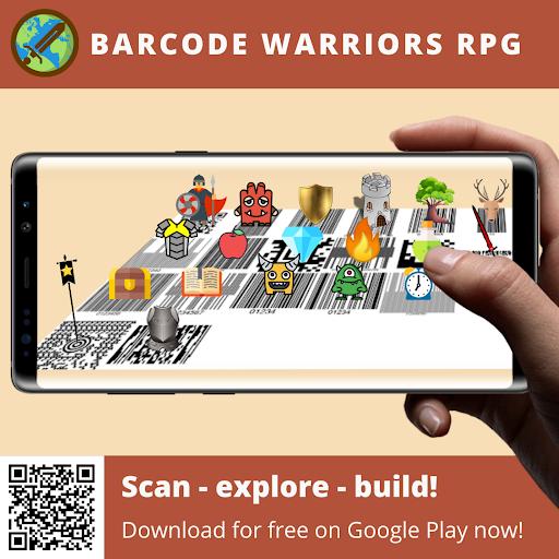 Barcode warriors (Real world RPG) screenshots 1