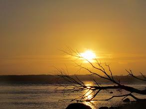 Photo: Das letzte Bild ist vom 23.12. und zeigt einen Sonnenaufgang am Brodtener Ufer.