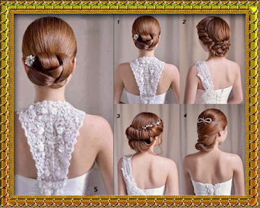 My hair style (hair binding) screenshot 0