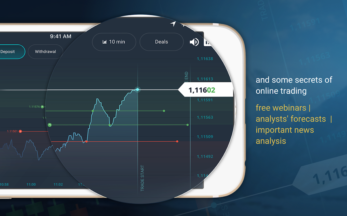 OlympTrade- screenshot