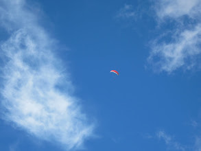 Photo: ... or maybe paragliding.