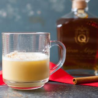 Rum Flip Cocktail.