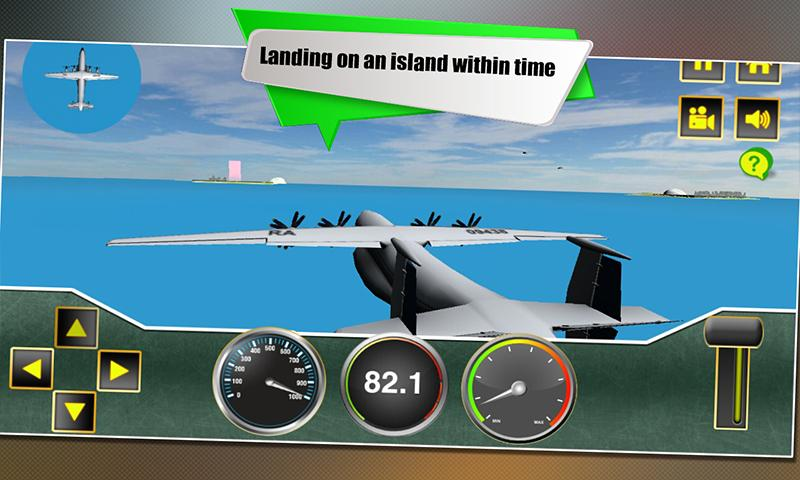 Airport Flight Airplane Sim 3D- screenshot
