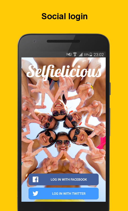 Selfielicious- screenshot