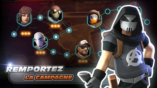 Alpha Squad 5: RPG & PvP Online Battle Arena  captures d'écran 2