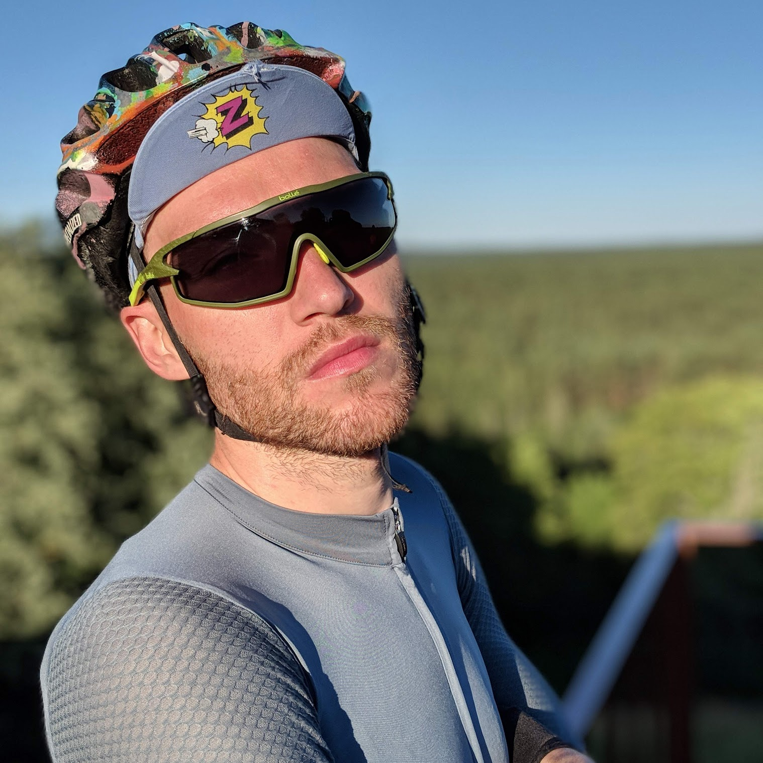 b57edbbfdf Bolle B-Rock Cycling Sunglasses. Rapha Cap. POC Cap   LFGSS