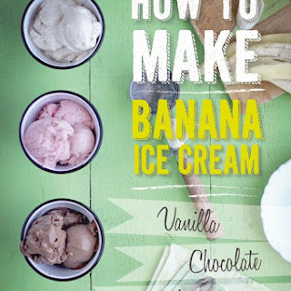 How To Make Banana Ice Cream (Gluten Free, Vegan)