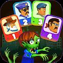 Four guys & Zombies (four-player game) icon