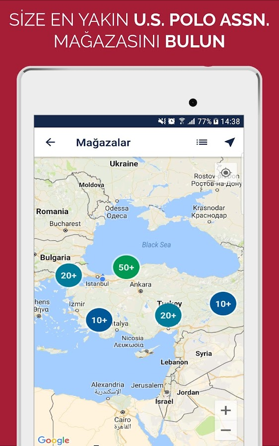 US Polo Assn Android Apps On Google Play - Us assn polo map