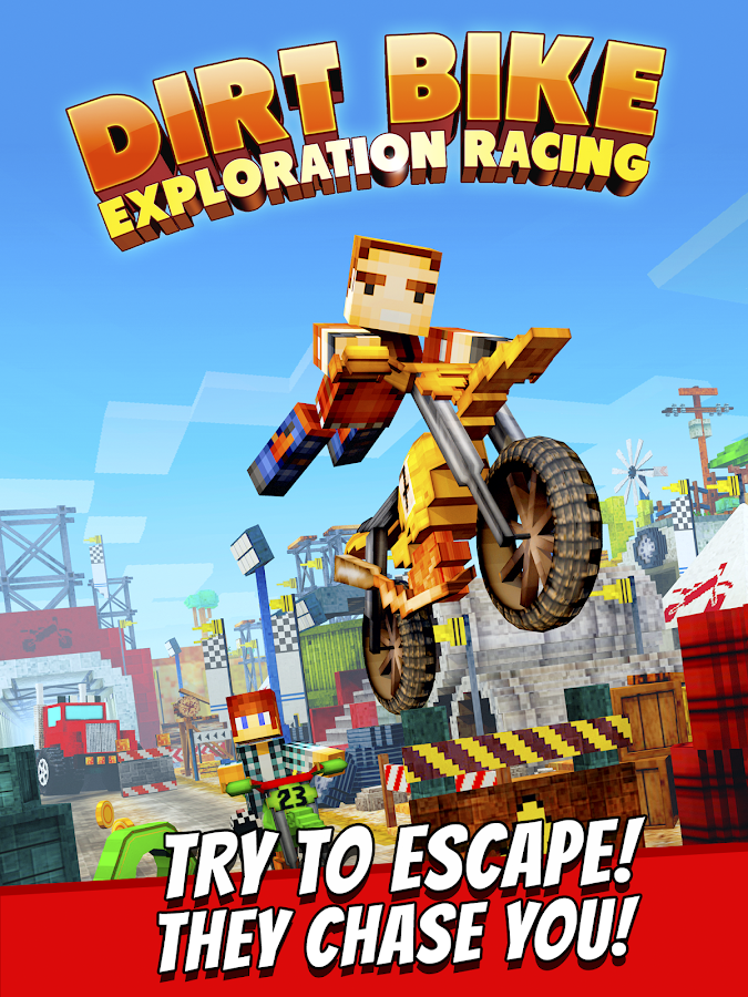 Dirt Bike Exploration Racing- screenshot