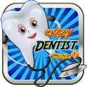 Dentist crazy fun doctor kids icon