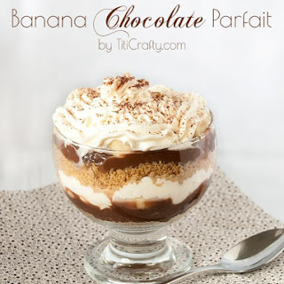 Banana Chocolate Parfait