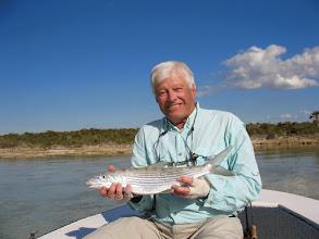 Photo: Jack Dildine on the November 2010 Bonefish Trip