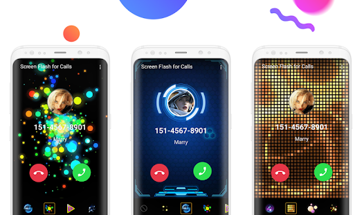 Color Phone - Love Themes, Call Screen - náhled