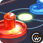 Neon Air Hockey Icon