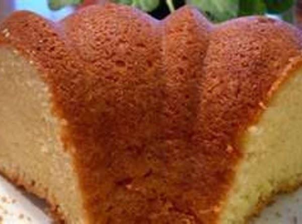 My Aunt's Pound Cake Recipe