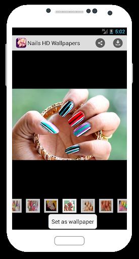 玩個人化App|Nails HD Wallpapers免費|APP試玩