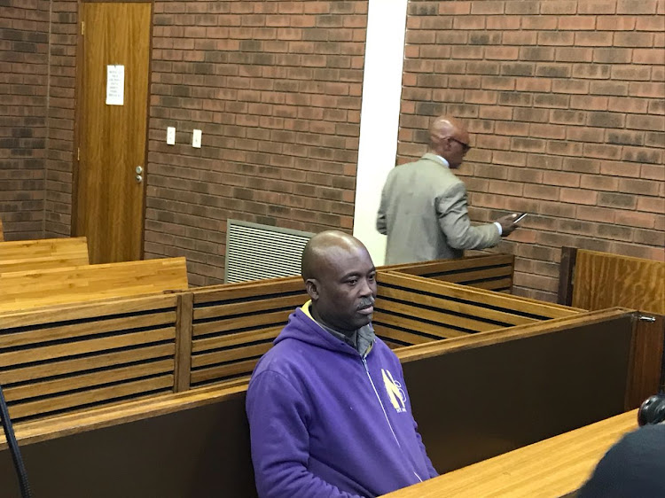 Emanuel Tshabalala, 51, appeared in the Lenasia Magistrate's Court on Thursday facing a charge of murder after allegedly accidentally shooting his son at a school in Ennerdale, Johannesburg