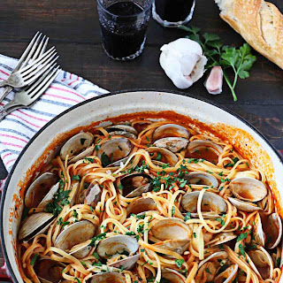 Linguine with Red Clam Sauce Recipe