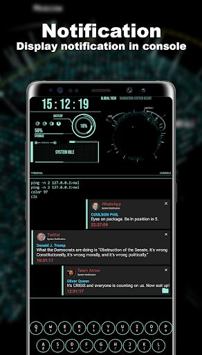 Hacker Theme - Aris Launcher ss3