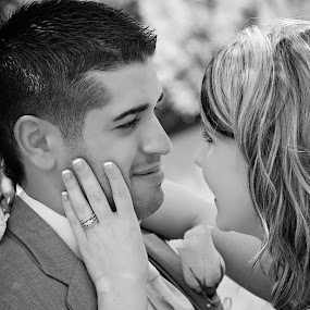 Johnathan & Sierra Cortez by Allie Small - Wedding Bride & Groom ( allie, cortez, sierra, small, photography, johnathan )