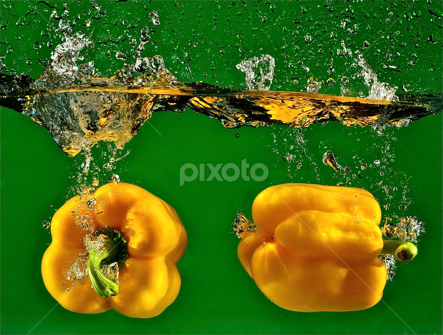 Little Yellow Peppers by Craig Luchin - Food & Drink Fruits & Vegetables