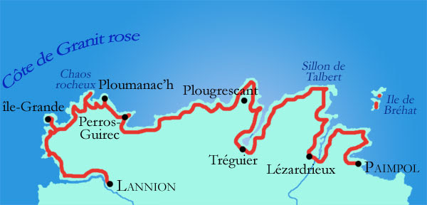 Cote de Granit Rose - Берег розового гранита, Бретань, Франция: описание, фотографии, история, как добраться, расположение на карте. Достопримечательности Бретани, Bretagne, France sights best places most beautiful landscapes travel guide info