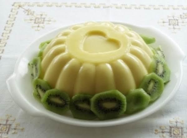 Gelatina De Leche-mexican Milk Jello