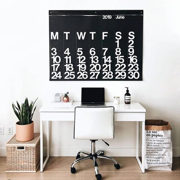 Spruce Up Your Office with an Oversized Calendar