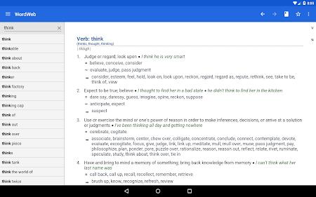 Dictionary - WordWeb 3.2 screenshot 222891