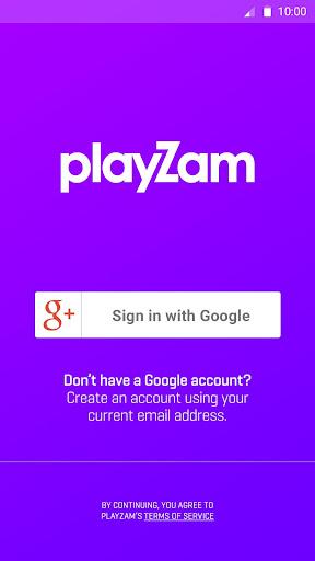 PlayZam - Sync your Tracks