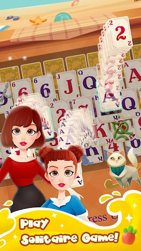 Solitaire Girl Dress Up! screenshots 3