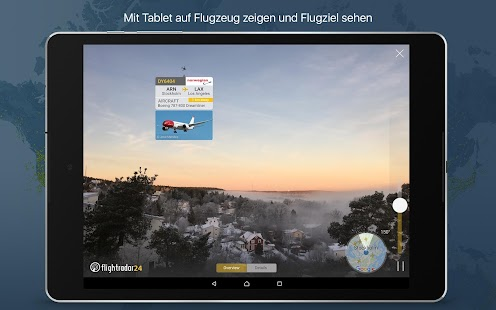 Flightradar24 - Flight tracker / Flugradar – Miniaturansicht des Screenshots
