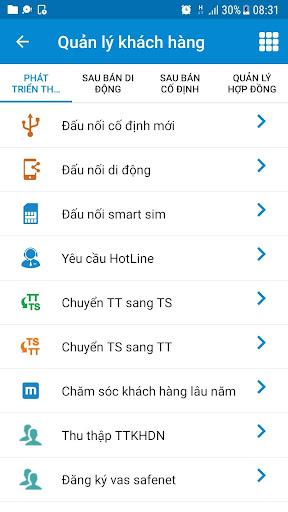 mBCCS 2.0 - Viettel Telecom 5.3.0 screenshots 4