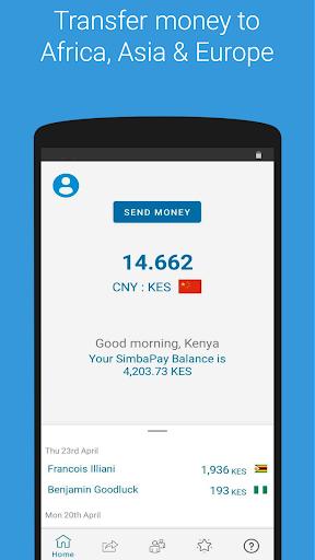 SimbaPay screenshot 2