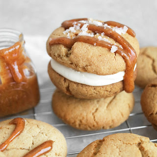 Easy Salted Caramel Cookie.