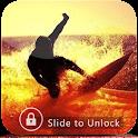 Crazy Surfer PassWord Lock icon