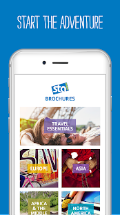 STA Travel Brochures- screenshot thumbnail
