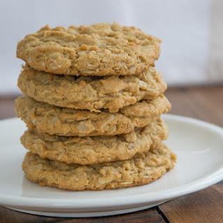 Peanut Butter Oatmeal Cookies (gluten-free).