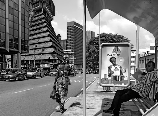 An image from Guy Tillim's 'Dar es Salaam and Abidjan' photobook.