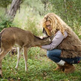 I'm a Deer rehab-er too by Kelley Hurwitz Ahr - People Street & Candids
