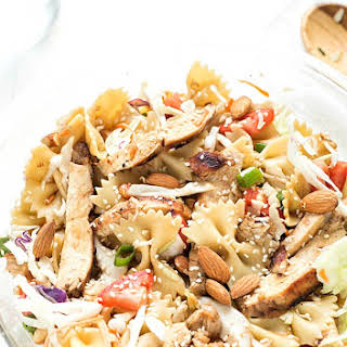 Asian Chicken Pasta Salad.