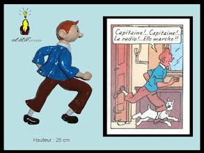 Photo: Tintin