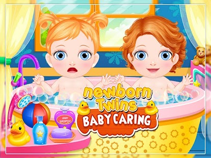 New Born Twins Baby Caring - náhled