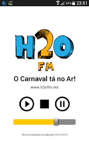 H2O FM - O Carnaval tá no Ar!- screenshot thumbnail