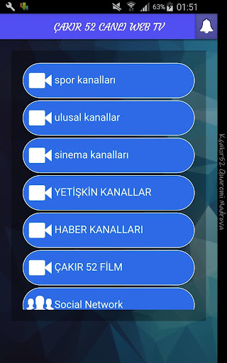 玩免費運動APP|下載Çakır 52 Canlı Web TV app不用錢|硬是要APP