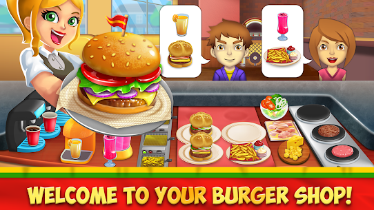 My Burger Shop 2 MOD APK [Unlimited Money + No Ads] 1