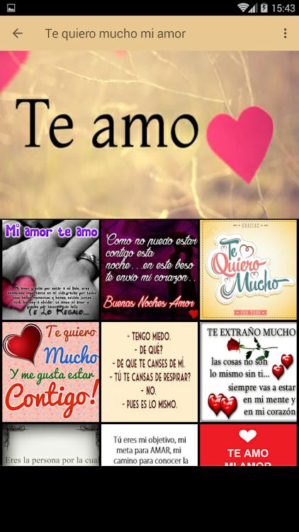 Frases De Te Quiero Mucho Mi Amor Android Aplikace Appagg